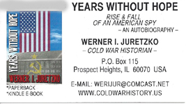 The Years Without Hope by Werner Juretzko